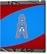 Houston Oilers Canvas Print