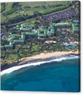 Hyatt Poipu Canvas Print