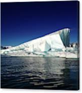 Icebergs-jokulsarlon Glacial Lagoon Canvas Print