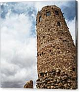 Indian Watchtower Grand Canyon Canvas Print