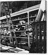 Interior The Old Store Pearce Mercantile Ghost Town Pearce Arizona 1971 Canvas Print