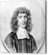 Isaac Barrow (1630-1677) Canvas Print
