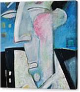 Jazz Face Canvas Print