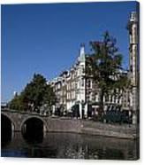 Keizersgracht Amsterdam Canvas Print