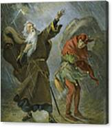 King Lear, 19th Century Canvas Print