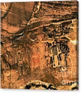 3 Kings Rock Art Canvas Print