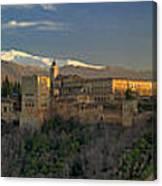 La Alhambra Granada Spain Canvas Print