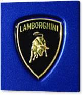 Lamborghini Emblem Canvas Print