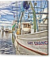 Last Chance - Hdr Canvas Print