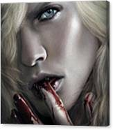 Lestat Licks Blood Canvas Print
