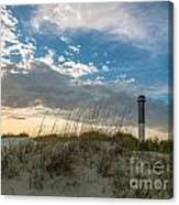 Sc Lighthouse View Canvas Print