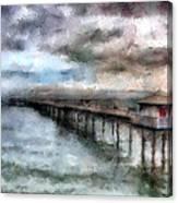 Llandudno Pier Canvas Print