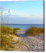 Longboat Key Beach Canvas Print