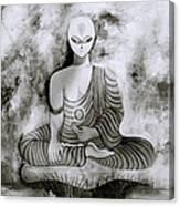 Lotus Position Canvas Print