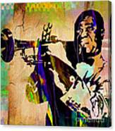 Louis Armstrong Collection Canvas Print
