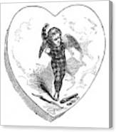 Love Lyrics And Valentine Verses, 1875 Canvas Print