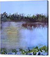 Loxahatchee Sunset Canvas Print
