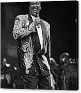 Singer Luther Vandross Canvas Print