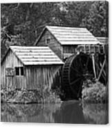 Mabry Mill - Blue Ridge Mountains Canvas Print