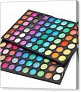 Makeup Color Palette Canvas Print