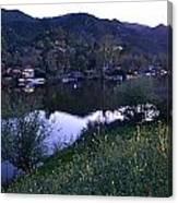 Malibu Lake Canvas Print