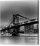 Manhattan Bridge New York City Canvas Print