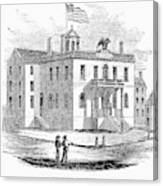 Massachusetts Salem, 1851 Canvas Print