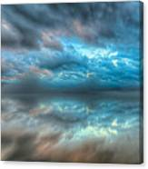 Melvin Bay Fog Canvas Print