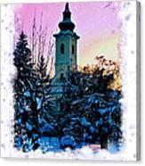 Christmas Card 22 Canvas Print