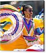 Mexican Folk Dancers Canvas Print