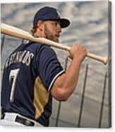 Milwaukee Brewers Photo Day 3 Canvas Print
