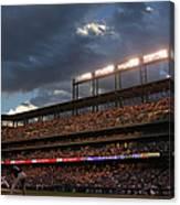 Milwaukee Brewers V Colorado Rockies Canvas Print