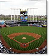 Minnesota Twins V Kansas City Royals Canvas Print