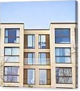Modern Apartments Canvas Print