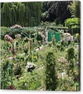 Monets Garden - Giverney - France Canvas Print