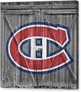 Montreal Canadiens Canvas Print