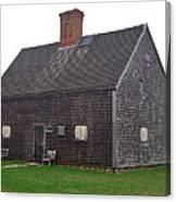 Nantucket's Oldest House Canvas Print