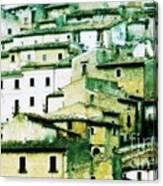 Navelli Village - Abruzzo - Italy Canvas Print