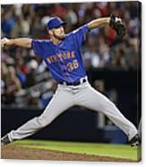 New York Mets V Atlanta Braves Canvas Print