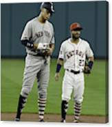 New York Yankees v Houston Astros Canvas Print