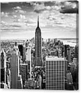 Nyc Downtown Canvas Print