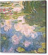 Nympheas Canvas Print