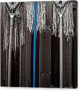 3 Old Maids Feeling Blue Canvas Print