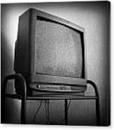 Old Television Canvas Print