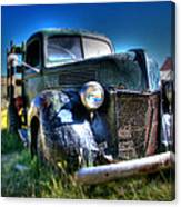 Old Truck At Bodie Canvas Print