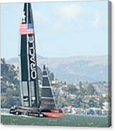 Oracle Team Usa Canvas Print