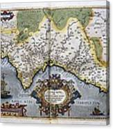 Ortelius, Abraham 1527-1598. Theatrum Canvas Print