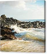 Paako Beach Makena Maui Hawaii Canvas Print