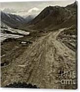 Pamir Highway Canvas Print