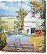 Peaceful In Pennsylvania Canvas Print